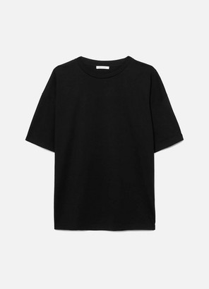 Ninety Percent Faye Oversized Organic Cotton-jersey T-shirt - Black