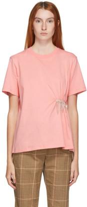 MSGM Pink Crystal T-Shirt
