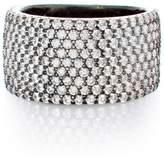 JEN HANSEN - Wide Band Ring - Oxidized Sterling Silver