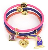 Juicy Couture Set Of 3 Charmy Elastics