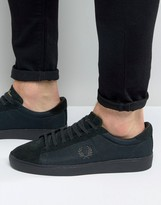 Fred Perry Spencer Mesh/suede Trainers