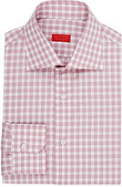 Isaia Men's Frank Dress Shirt-PINK