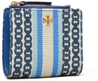 Tory Burch GEMINI LINK CANVAS MINI WALLET