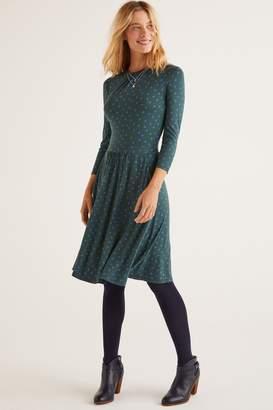 Boden Womens Green Mira Jersey Dress - Green