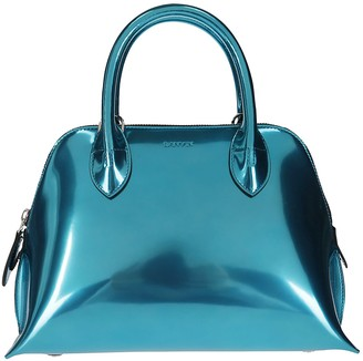 Lanvin Metallic Top Handle Tote Bag