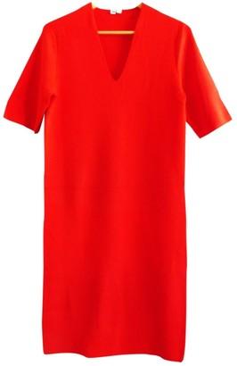 Uniqlo Red Cotton Dress for Women
