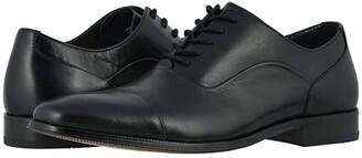 Florsheim Jetson Cap Toe Oxford (Black Smooth) Men's Shoes