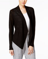 Eileen Fisher Organic Linen Open-Front Cardigan, a Macy's Exclusive Style