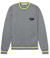 Givenchy - Neon-stripe Wool Sweater
