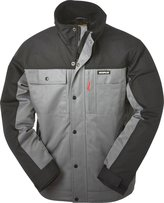 Caterpillar Men's Insulated Twill Jacket, Grey