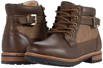 Steve Madden Belay (Little Kid/Big Kid) (Brown) Boy's Shoes