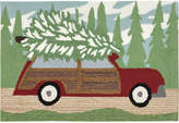 """Liora Manné Liora Manne' Front Porch Indoor/Outdoor Woody Wonderland Pine 2'6"""" x 4' Area Rug"""