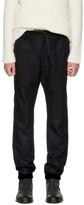 Sacai Navy Melton Pants