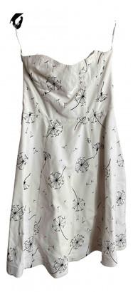 Vika Gazinskaya White Cotton Dresses