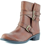 Style&Co. Style & Co Baxten Round Toe Synthetic Ankle Boot.