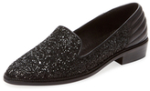 The Kooples Glitter & Leather Loafer