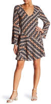 Lucy Paris Tara Geo Print Dress