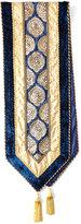 Divine Designs Kari Sapphire & Gold Table Runner