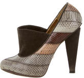 Dolce & Gabbana Snakeskin Platform Pumps