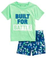 Under Armour Built for Battle T-Shirt & Shorts Set