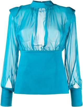 FEDERICA TOSI sheer blouse