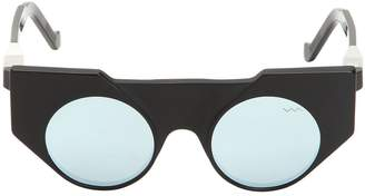 Va Va Vava Matte & Shiny Acetate Cat Eye Sunglasses