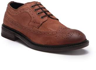 Frank Wright Baird Suede Leather Derby