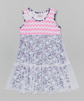 Flap Happy Island Reef Savannah Dress - Toddler & Girls