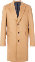 Paul Smith single-breasted coat - men - Cupro/Cashmere/Wool - 36