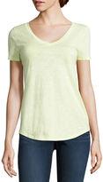 STYLUS Stylus Short Sleeve V Neck T-Shirt