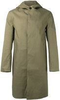 MACKINTOSH button-down coat - men - Cotton - 40