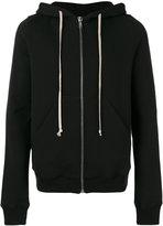 Rick Owens zip up hoodie - men - Cotton - S