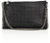 Stella McCartney Studded Faux-Leather Zip Pouch