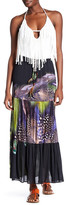 Sky Galatea Printed Maxi Skirt