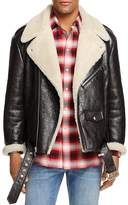 Marc Jacobs Oversized Shearling Leather Jacket