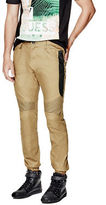 G by Guess GByGUESS Men's Swith Color-Blocked Moto Joggers