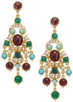 Ben-Amun Women's Crystal Chandelier Earrings