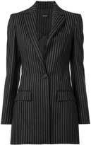 Josh Goot striped blazer - women - Viscose/Wool - XS