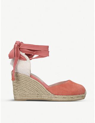 Aldo Muschetta woven espadrille wedge heels