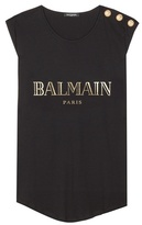 Balmain Printed Cotton Tank Top