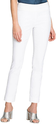 Nic+Zoe Plus Size Polished Wonderstretch Skinny Ankle Pants
