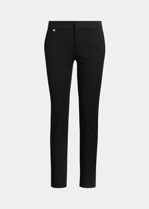 Ralph Lauren Cotton Twill Skinny Ankle Pant