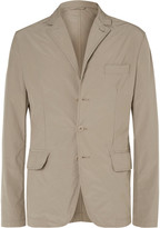 Aspesi Beige Slim-Fit Shell Blazer