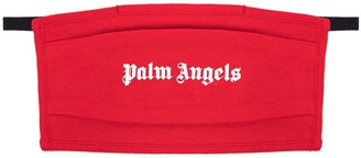 Palm Angels Logo Print Face Mask