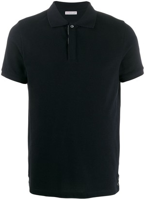 Moncler fitted polo shirt