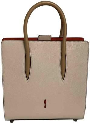 Christian Louboutin Paloma Beige Leather Handbags