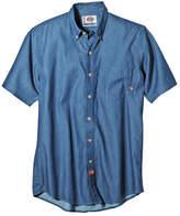 Dickies Short-Sleeve Denim Work Shirt-Big & Tall