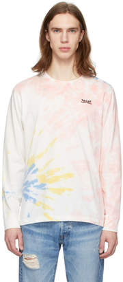 Levi's Levis Multicolor Tie-Dye Two Horse Long Sleeve T-Shirt