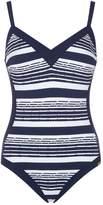 Maryan Mehlhorn Cruise Stripe Swimsuit