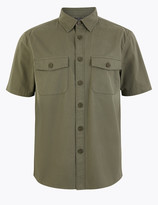 Marks and Spencer Pure Cotton Utility Over Shirt